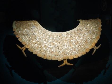 Pectoral encontrado en Oxtankah